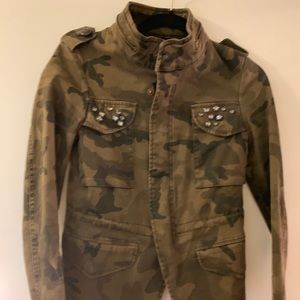 Zara army fatigue jacket